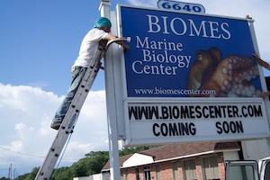 Biomes sign -004