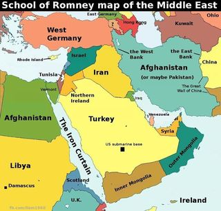 Romney-Geography