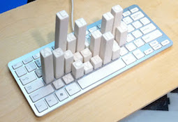 Keyboard-sculpture