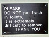 Toilettrash